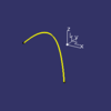 siren v0.13 NURBS曲線・Bスプライン曲線