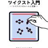【 日本ツイクスト協会 】本の表紙・裏表紙のデザインをしました