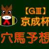 【GⅢ】京成杯 結果