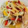 冷た~い【1食231円】湯引き真鯛のカルパッチョ風サラダの作り方