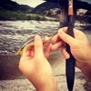 夏休みの工作第二弾 ハヤとりトラップで大漁!ハヤは食べられるの?