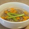 五穀米レシピ#20 もち麦の和風白出しスープ(ダイシモチ使用)