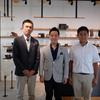泉大津市の南出市長、泉佐野市議の布田さんにご来店いただきました。