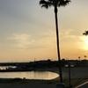 明日の江井ヶ島海岸 浜辺yoga