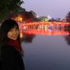ホアンキエム湖(Hồ Hoàn Kiếm)