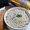 鯖缶と豆腐のディップ、フキノトウ入り
