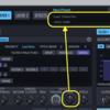 SynthMasterの使い方7-ルーティング画面の解説