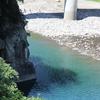 慎太郎も泳いだ奈半利川。