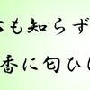 """小倉百人一首 歌三十五番 """"人はいさ心も知らずふるさとは"""""""