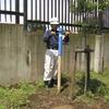 アース棒を打ち込む安全ハンマーを製作する。