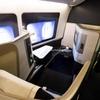 ブリティッシュエアウェイズ B777-300ER ファーストクラス BA015 シンガポール→シドニー搭乗記 2017年