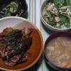 豚肉と茄子の味噌炒め~晩御飯の記録~