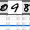 KerasのMNISTデータをJPEGに書き出す簡単サンプル