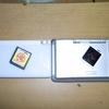 今日の実験。DS2台による本物カードからの自作プチゲーム抜き出し方法。