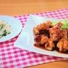 おびゴハン!【鶏手羽のレモンソース】【レタスチャーハン】レシピ