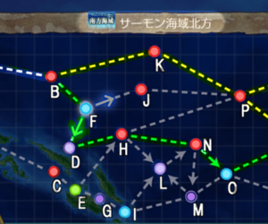 【2019最新】第二期EO5-5第二次サーモン海域の攻略まとめ【おすすめ編成・ルート・制空値】