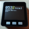 M5 Stack Basicで摂取カロリー記録用の3ボタンUI部分が完成