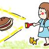 愛媛ハタダ「五大焼」9月はドラえもんの誕生日!どら焼き食べよ♪の巻