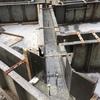 基礎立ち上がりの生コンクリート打設が行われました