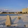冬の白良浜