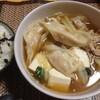 【今日の食卓】海鮮(海老)と豚肉のスープ餃子+本場中国の餃子がかなり異なる話