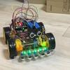 週末は、親子でロボット製作