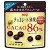 【私の間食アイテム】明治チョコレート効果72%と86%を食べ比べ