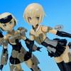 フレームアームズ・ガール アニメ版 轟雷・素体 を作ろう! その1