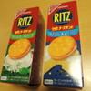 RITZチーズサンド クリームチーズ&ハーブ カマンベール&ペッパー
