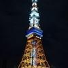 7月12日(木)hatenaより夜の東京タワー。