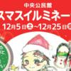 中央公民館 クリスマス イルミネーション 開催中!