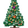 リビングにはクリスマスツリー。とどめに、Xperia XZ Premium が壊れた