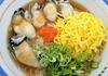 ぷりぷりの牡蠣と揖保乃糸!蒸し牡蠣温ぶっかけ素麺@【龍野西SA】