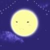裏話:雪くじらくんと、お月さま