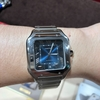 【Cartier】サントス ドゥ カルティエ ブルーダイヤルを試着レビュー時計屋放浪記