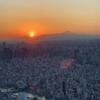 東京スカイツリーから見る、トワイライトと夜景