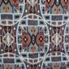 着物生地(197)抽象模様織り出し本塩沢紬