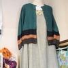 縁編みのストール