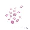 天然ピンクダイヤのブライダルリング ver.2