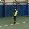 全日本ジュニアテニス選手権前日練習!