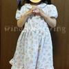 【手作り】Kids'ワンピース&ジャンパースカート 襟ワンピース