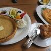 子連れで旅行@軽井沢 最終日レポート**カフェ「シェリダン」でドイツ風パンケーキ&軽井沢プリンスショッピングプラザ(アウトレット)へ**