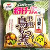 【食レポ】ご当地ポテトチップス~山梨・甲府鳥もつ煮味