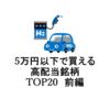 【2021年】5万円以下で買える高配当銘柄 東証1部利回りランキングベスト20銘柄を分析 前編