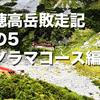 北穂高岳敗走記 その5  パノラマコース編