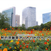 2020◆秋のひとりピクニック!庭園植物と銀座~浜離宮までの人出について / 浜離宮 @新橋
