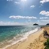 〜Hawaii〜DAY6(part1)絶景ラニカイビーチ!〜駐車場は?更衣室は?