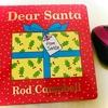 【クリスマス・英語絵本・しかけ絵本】「Dear Santa」2,3歳向け。とっても丈夫。下にめくる。とってもシンプル。1000円以内。コロナ禍でも、おうちで明るいクリスマスを。