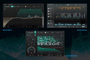 "SONIBLE Smart:Bundle 〜ソースに合った処理を提案するEQ/コンプ/リバーブ【""未来系""プラグイン・エフェクト・レビュー】"
