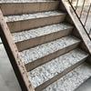 階段補修完了・駐車場整備・屋上洗浄・ケルヒャー・秀貴くん参戦